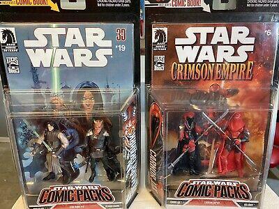 Star Wars Comic Packs 2006 Quinlan Vos Vilmar Grahrk Carnor Jax Kir Kanos MOSC