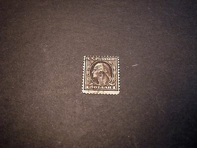 US Stamp Scott# 342  Washington 1908-09   LG7