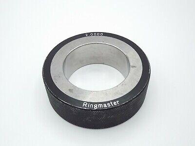 Ringmaster Smooth Plain Bore Ring Gage 2.0000 No Etchings 2