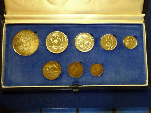 1973 Proof Set South Africa 8 coins