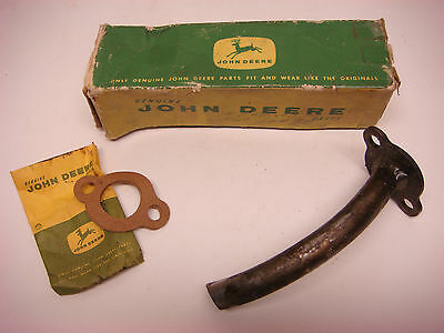 Nos John Deere Part No. At11989 Exaust Pipe Tube Jd063 Tractor Farm Vintage