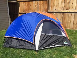 Youth Two Person/ One Adult Backpacking Tent with Fly