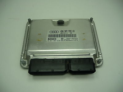 AUDI A6 C5 42 V8 QUATTRO ENGINE ECU 4D0907558AD 0261207630