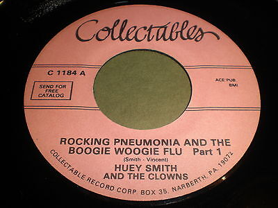 Huey Smith And The Clowns Rocking Pneumonia And The Boogie Woogie Flu  Part 1 45