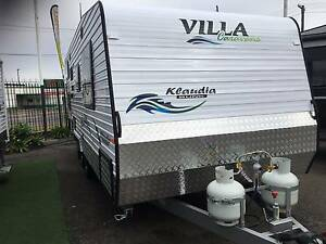 2017 Villa 21.6 Bunk Caravan Belmont North Lake Macquarie Area Preview