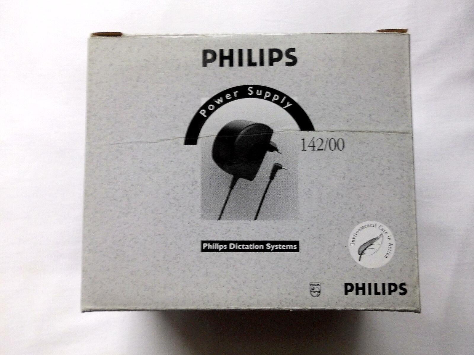 Philips Netzteil Nr. 140   für Taschen-Diktiergerät 696 mit Mini-Kassette