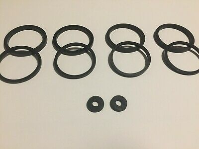 Kawasaki ZZR400 - Front Brake Caliper Seal Rebuild / Repair Kit (4 Pack)