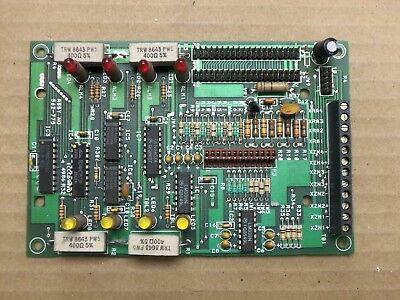 Simplex 562-775 562-775b Rev B 4 Pt Module Monitor Circuit Board Card Fire Alarm