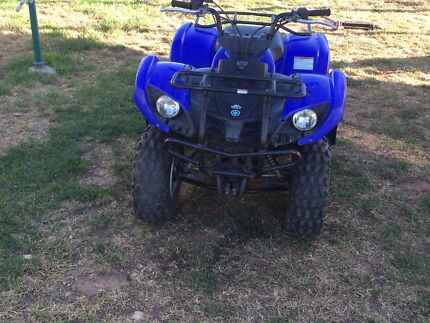 YAMAHA GRIZZLY 125cc AUTOMATIC