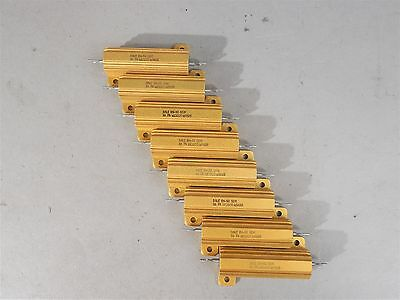 Lot Of 8 Dale Power Resistor Rh-50 50w 1 - New