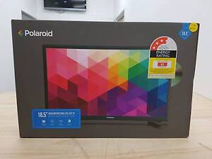 18.5 LED LCD POLAROID TV - WITH BUILT-IN DVD PLAYER (NEW) Lalor Whittlesea Area Preview