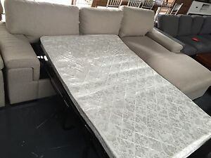 DESIGNER SOFA BED WITH STORAGE Leumeah Campbelltown Area Preview