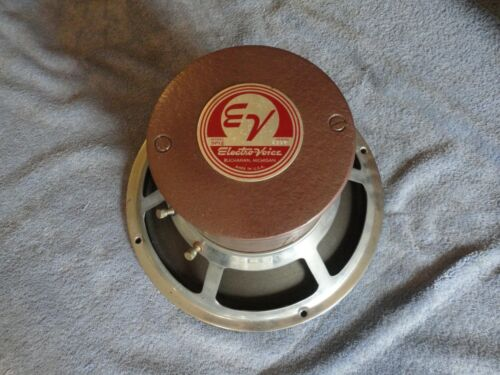 "EV ELECTRO-VOICE ORIGINAL SP12 FULL RANGE 16 OHM 12"" ALNICO MAGNET SPEAKER"