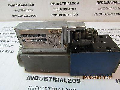 Bosch Hydraulic Servo Valve 0811404754 R978716398 Used