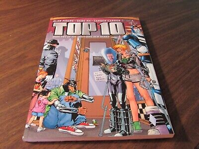 Top 10 Book Two Alan Moore $15 Graphic Novel TPB Comic Book America's Best (10 Best Graphic Novels)