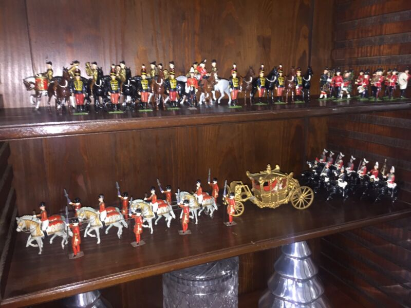 BRITAINS CORONATION OF QUEEN ELIZABETH II CONSISTING OF 74 CHARACTERS