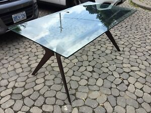 Designer Glass Table - Retails for $2,321