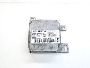 RENAULT CLIO II 01-04 AIRBAG ECU MODULE 8200136038  BOSCH 0285001415