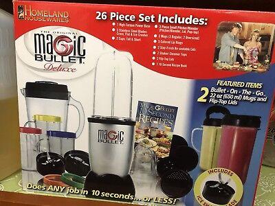 magic bullet blender juicer 26 Piece Set, used for sale  San Jose