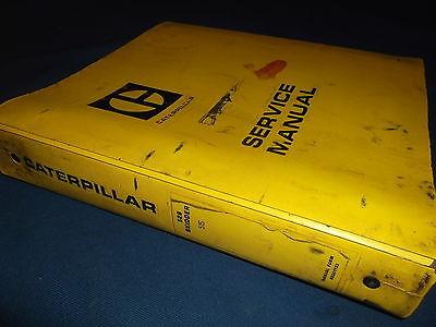 Cat Caterpillar 528 Skidder Service Shop Repair Book Manual Sn 51s