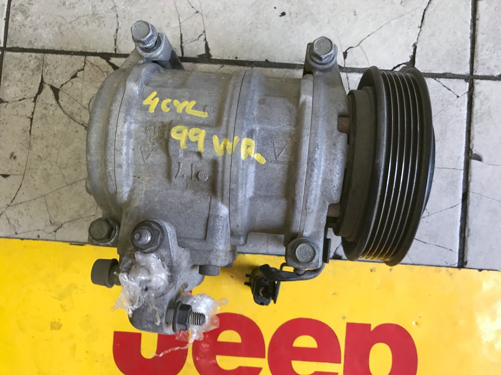 Used 1999 Jeep Wrangler Air Conditioning And Heater Parts For Sale Tj Box Wiring Harness Fan Relay 40l A C Pump Oem
