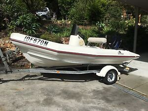 2006 - Mac 420 Fish Trekker with 50 HP Tohatsu TLI & trailer Shoal Bay Port Stephens Area Preview