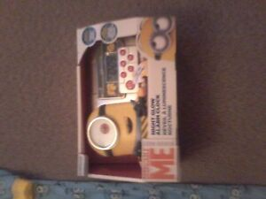 Despicable Me Night Glow Alarm Clock Brand New Asking $ 20.00