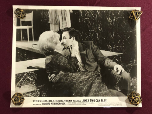 ONLY TWO CAN PLAY ORIGINAL MOVIE PHOTO STILL 1962 PETER SELLERS  PINK PANTHER 3