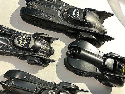 Vtg 1989 and 1992 ERTL - BATMAN CAR MOBILE-  Lot of 4