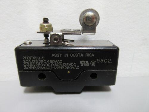 New C&K 2HBFX98-5 Snap-Acting Switch