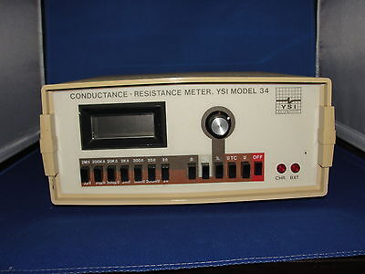 Ysi Conductance Resistance Meter Model 34