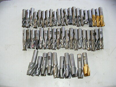 50 Piece End Mill Lot 34 Shank B Pb4