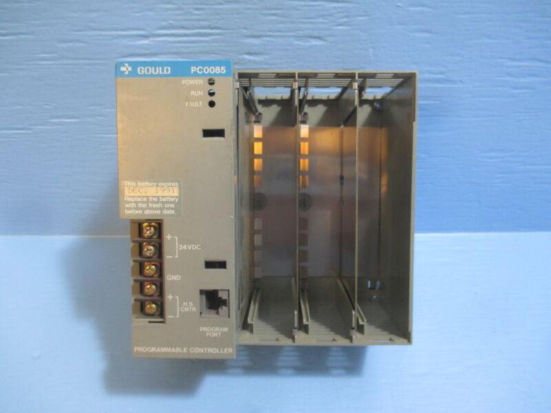 Gould PC-0085-005 Programmable Control Module Rev A Modicon Controller PC0085
