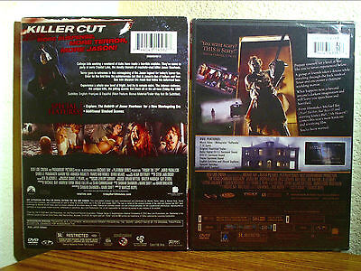 FRIDAY THE 13TH & TEXAS CHAINSAW MASSACRE HORROR RARE 2 DVD NEW SEALED!!](Friday The 13th Chainsaw)
