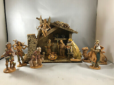 Vintage (1992) Fontanini Nativity Set * 11 Pieces plus Manger * (F1)