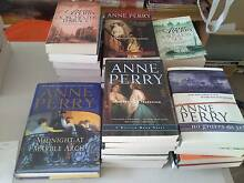 Novels by Anne Perry/Jo Nesbo/Susanna Gregory/Tasha Alexander Munno Para West Playford Area Preview