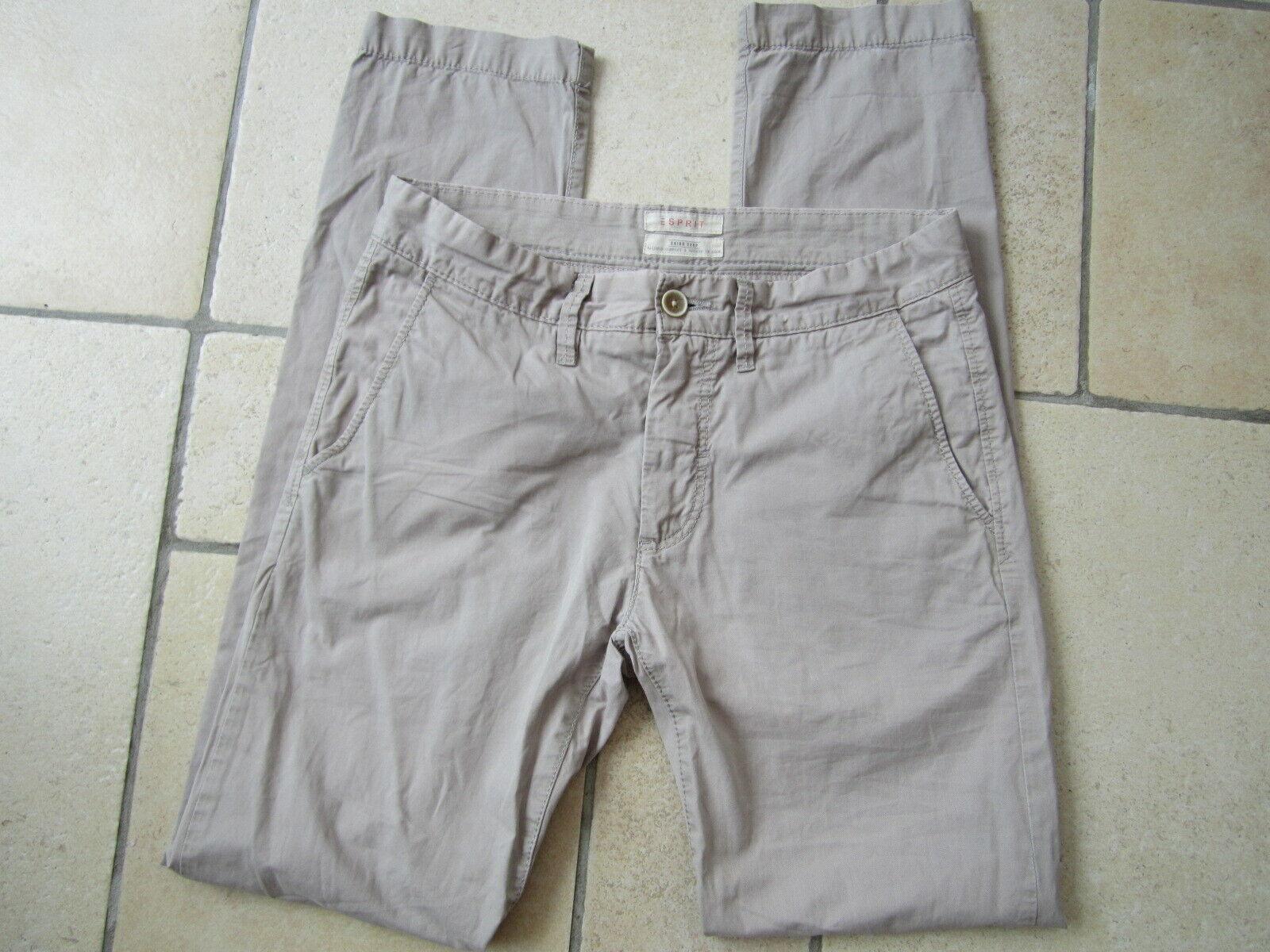 Pantalon chino esprit beige