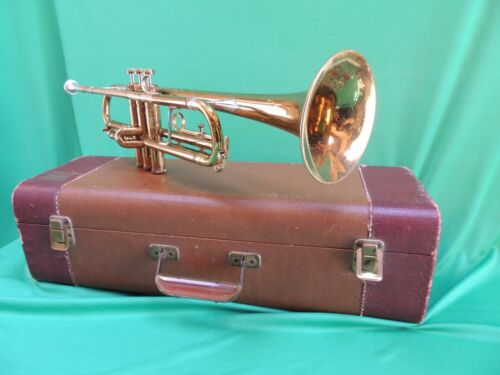 ROTH 300 🎺TRUMPET REFURBISHED with case and Mouthpiece Cleveland
