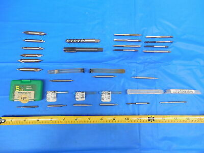 Lot Of Machinist Tooling For Southbend Lathe Bridgeport Mill Tap Drill End Mill