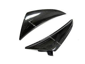2009 2011 yamaha r1 carbon fiber headlight nose winglet for Yamaha r1 carbon fiber parts