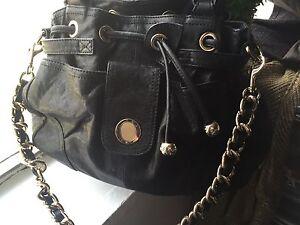 Black Leather Oroton Bag Newcastle Newcastle Area Preview