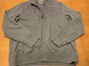 79aa282a675b Converse All Star Mens Size Large Full Zip Long Sleeve Jacket