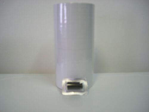 14,000 White Labels for 1136 Monarch 8 rolls,1 ink roller