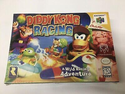 Diddy Kong Racing N64 Sealed NEU VGA Nintendo 64 Wata NEW Versiegelt