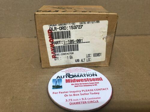 NEW JBA4002C AMETEK  JBA-4002C CONTACTOR 36-38V 1-105-001 SHIPSAMEDAY