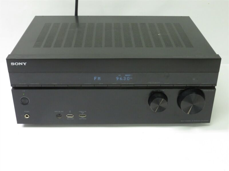 Sony STR-DN1040 7.2 Channel 165W Home Theater Receiver 7x HDMI Bluetooth TESTED