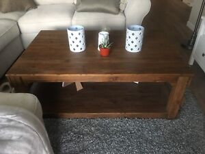 Brand new coffee table