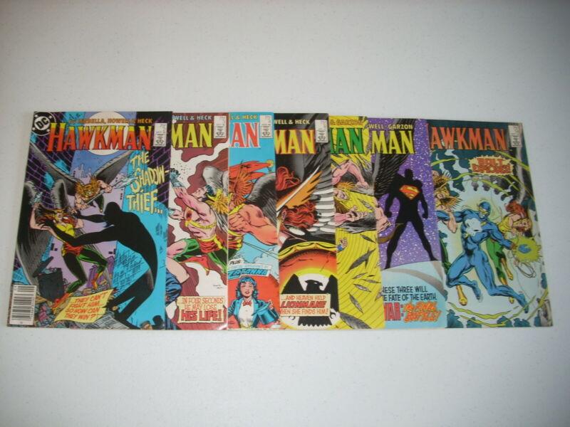 HAWKMAN (1986) 2 3 4 6 7 10 14 LOT of 7 ALL VF Near Mint NM DC COMICS