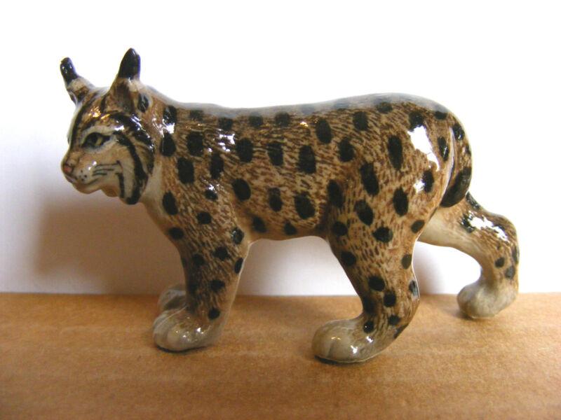 Klima Lynx Standing Miniature Animal Figurine Wildlife Cat