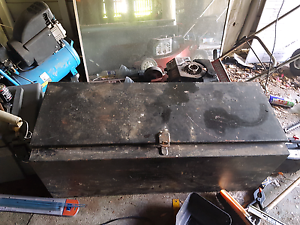 Truck .trailer .or ute tray toolbox Booval Ipswich City Preview